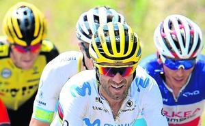 La soledad de Valverde en la Vuelta