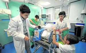 ECMO, la máquina del hospital de Cruces que me devolvió la vida
