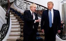 Johnson y Trump certifican su buena armonía en la antesala del 'brexit'