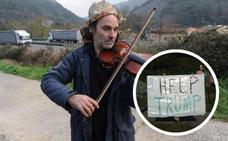 A Trump le molesta hasta el violinista de Mendaro