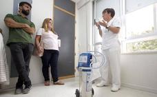 303 mujeres usaron el 'gas de la risa' para el dolor del parto el último año en Asturias