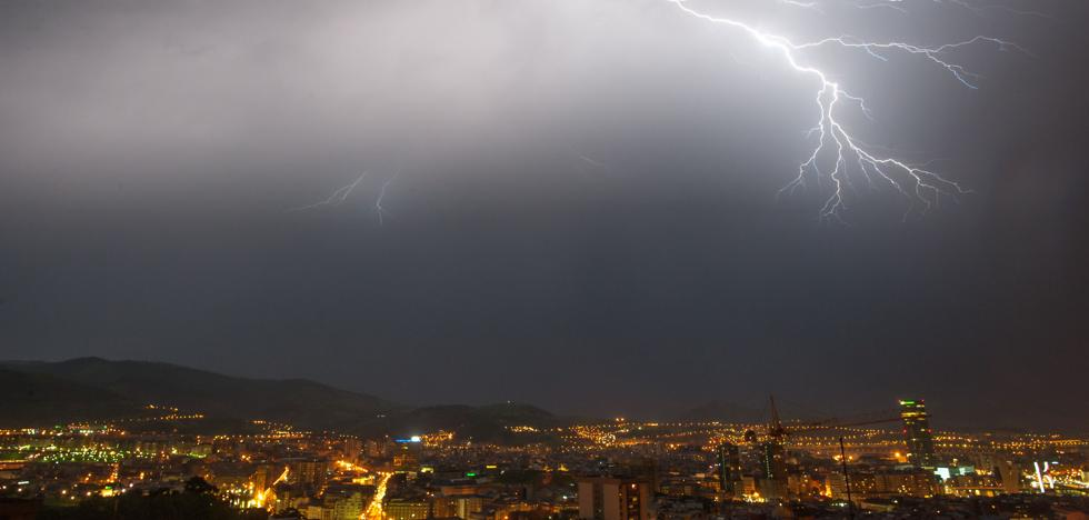 Las fuertes tormentas de ayer dejarán paso a otras tres jornadas de gran inestabilidad