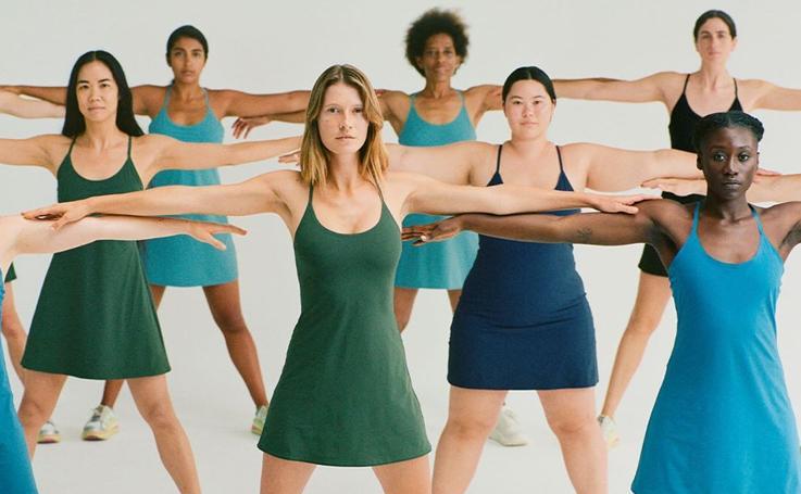 ¿Y si utilizásemos vestidos para ir al gimnasio?