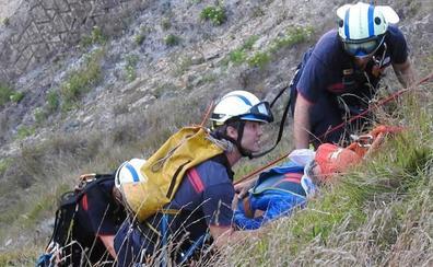 Herido tras sufrir un accidente cuando hacía parapente en Sopela