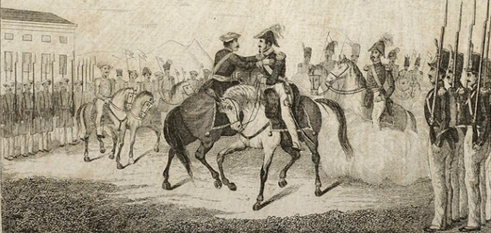Bergara, 31 de agosto de 1839: el abrazo que cambió la historia