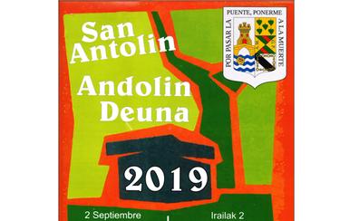 Programa de fiestas de Artzentales 2019: San Antolin