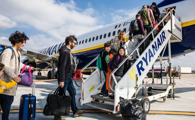 La posible huelga de pilotos de Ryanair amenaza 16 vuelos en Foronda