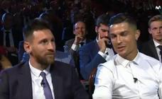 El buen rollito entre Messi y Cristiano en Mónaco