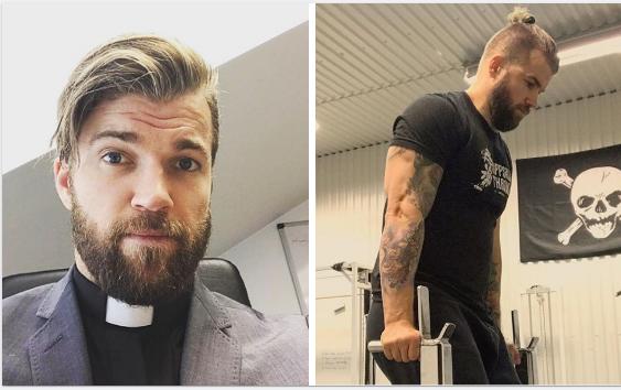 Así es el brutal entrenamiento del cura sueco adicto al CrossFit que arrasa en Instagram