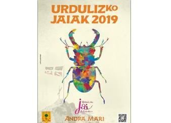 Programa de fiestas de Urduliz 2019: Andra Mari Jaiak