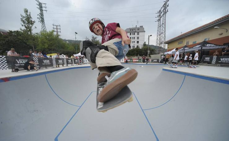 Olabeaga se convierte en la capital del skate