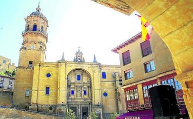 El agua amenaza a la iglesia de Labastida