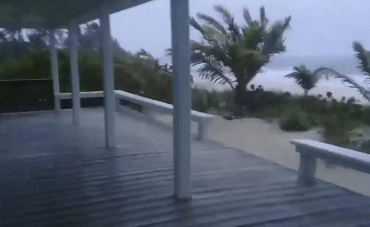 El impacto del huracán 'Dorian'