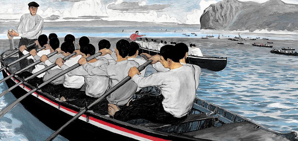 La gran regata de 1890