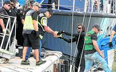Cae un narcovelero con 790 kilos de cocaína en las Azores