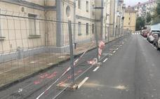El Ayuntamiento de Ortuella inicia las obras de la parte baja del barrio de Otxartaga