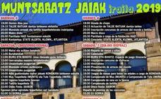 Programa de fiestas de Abadiño 2019: Muntsaratz Jaiak