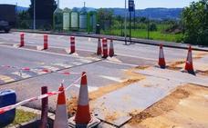 Un semáforo mejorará la seguridad en el barrio Landatxueta de Loiu
