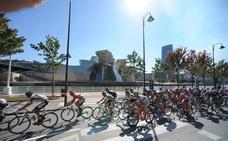 Consulta los horarios de paso de los ciclistas de la etapa que finaliza hoy en Bilbao