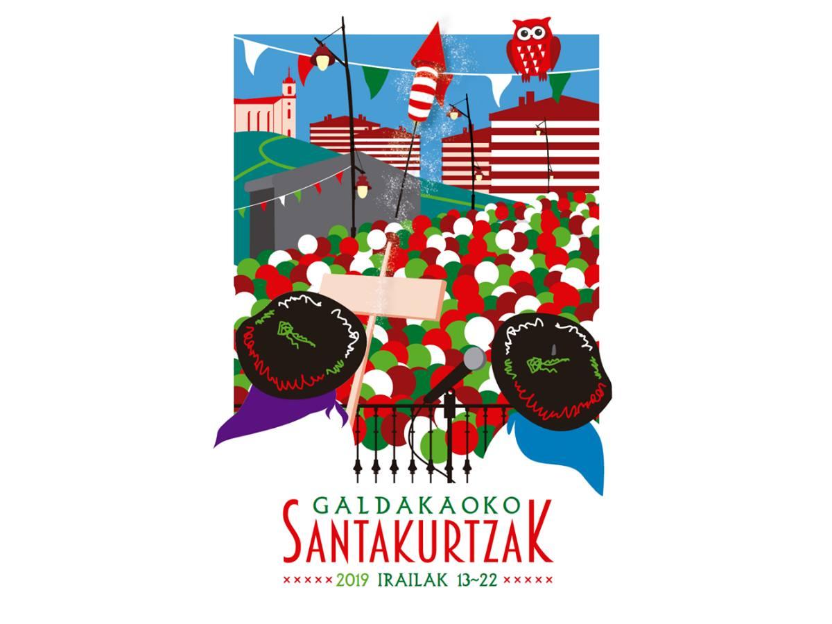 Programa de fiestas de Galdakao 2019: Santakurtzak