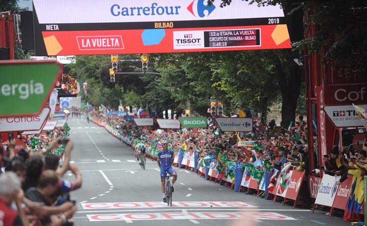 El paso de La Vuelta por Bilbao