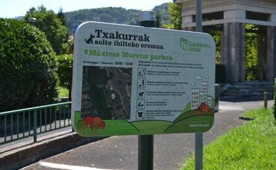 Galdakao avanza con las mejoras del parque Máximo Moreno