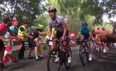 El paso de la Vuelta por El Vivero