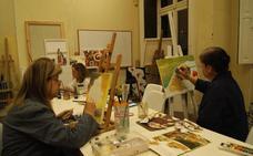 La casa de Cultura de Llodio ofrece 600 plazas en cursos de arte y manualidades