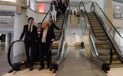 El Euskalduna mejora su accesibilidad con escaleras mecánicas