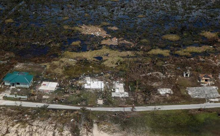 Las desoladoras imágenes que deja el huracán Dorian