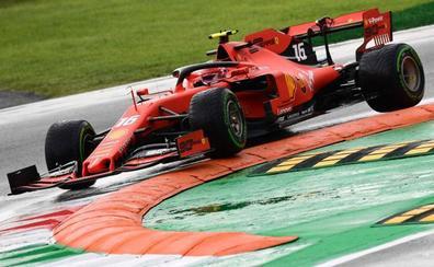 Leclerc, la esperanza de Ferrari para volver a reinar en Monza