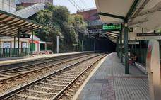 Renfe arreglará la fachada de la estación de Bidebieta antes de que finalice el año