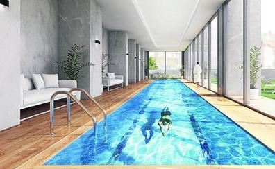 Las piscinas en azoteas se ponen de moda en Bilbao
