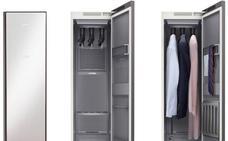 Samsung presenta un armario capaz de planchar la ropa