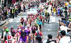 El Tour, cada vez más cerca de la capital vizcaína