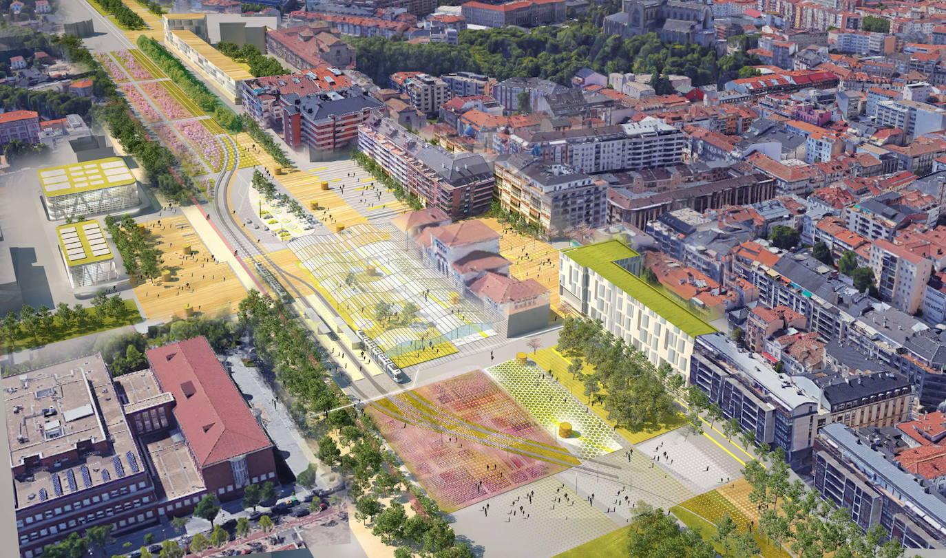 El PP no presentará alegaciones por el soterramiento del tren en Vitoria