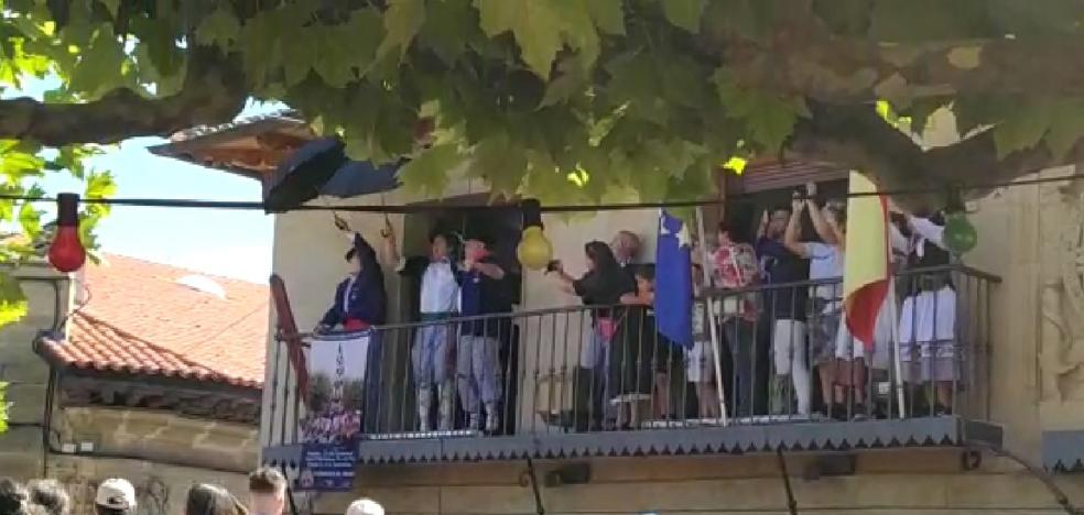 Celedón y Barrihuelo dan paso a la fiesta en Elciego