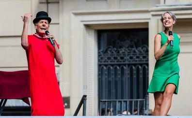 Fofito y su hija Mónica despiertan la nostalgia de los vitorianos
