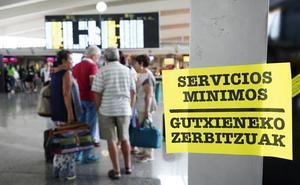 Dos vuelos cancelados y retrasos en otros cuatro por la huelga de Iberia en 'La Paloma'