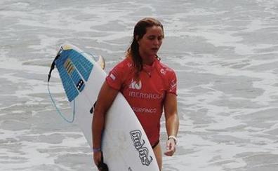 Leticia Canales supera la primera ronda en el Mundial de surf de Japón