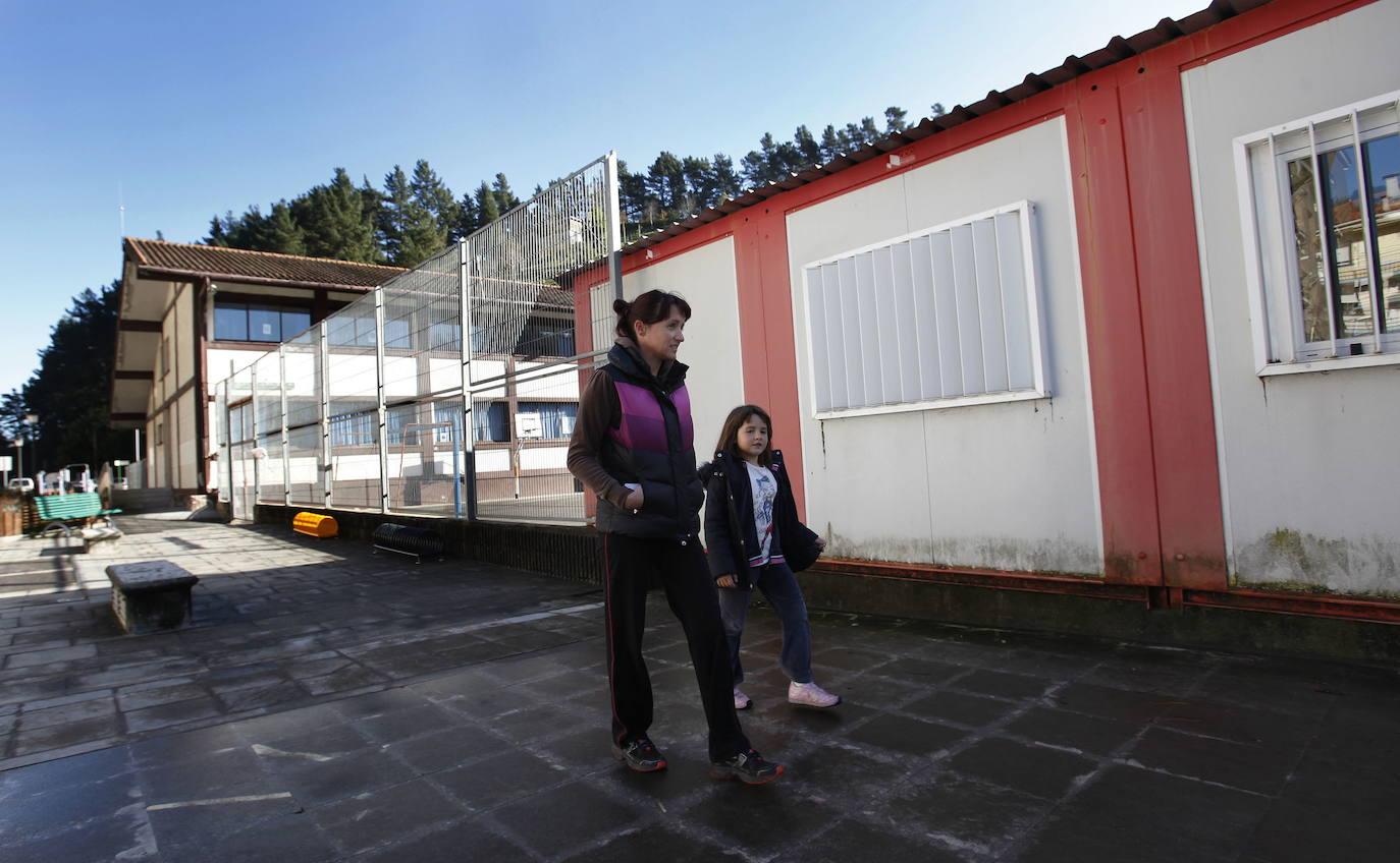 El curso escolar arranca en Berriatua sin el traslado a los doce barracones