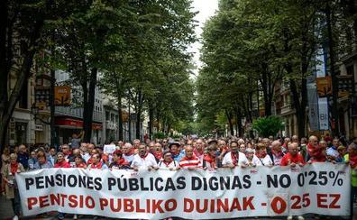 En Euskadi sólo hay 1,88 trabajadores en activo por cada pensionista