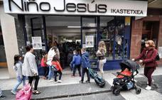Sube el número de alumnos en Álava pese a caer en el resto de Euskadi