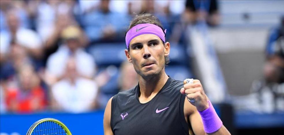 Nadal mete presión a Federer