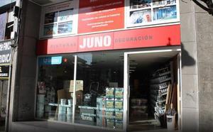 Rompen la luna de una tienda de pinturas en Santutxu y se llevan el dinero de la caja