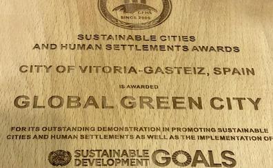 El premio Green Capital mundial se expondrá en el Europa