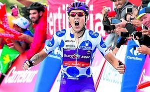 Ángel Madrazo, la alegría de la Vuelta