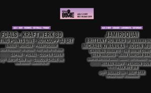 Cartel BIME Live 2019 Bilbao completo
