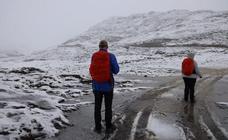 La primera nevada de la temporada en Picos de Europa
