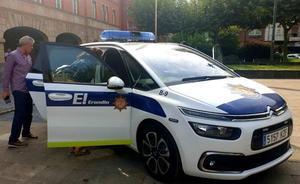 La Policía Local de Erandio incorpora cinco nuevos agentes y dos vehículos